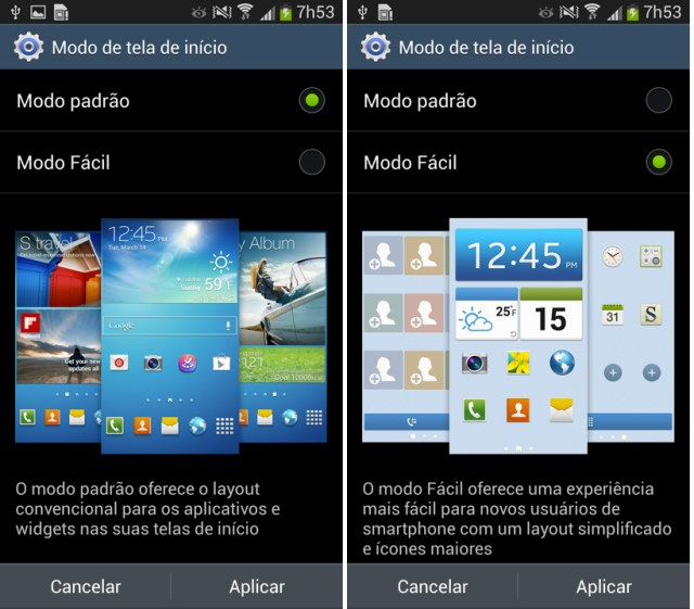 samsung galaxy s4 easy mode - 1