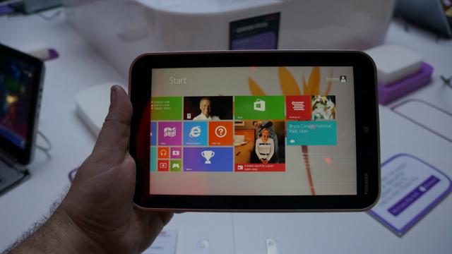 toshiba win8 tablet - 2