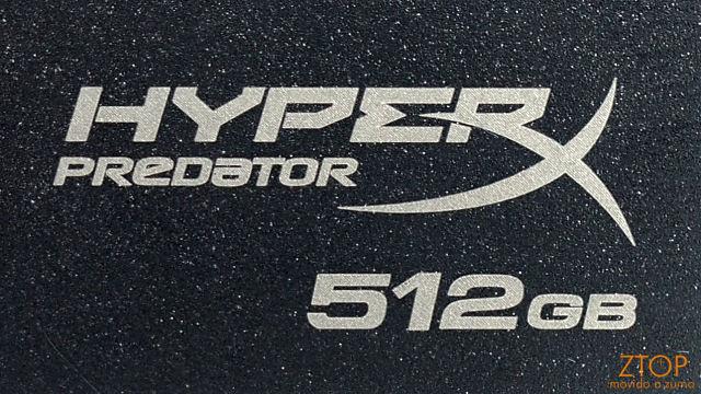 Review: Memory Key Kingston Data Traveller HyperX Predator de 512 GB