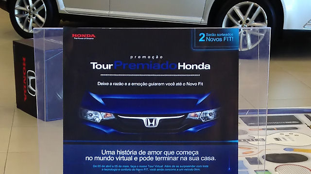 Honda Fit 2015: que tal um tour virtual?