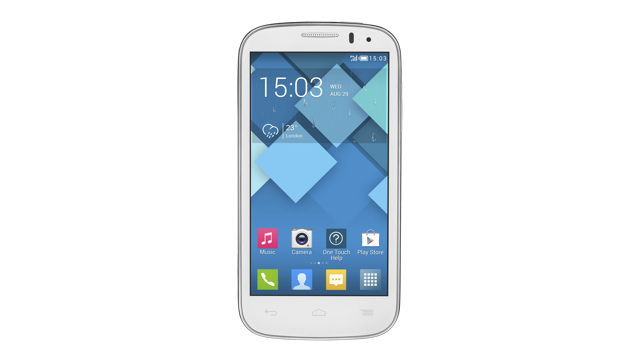 Alcatel Onetouch POP C5 Full White-dest