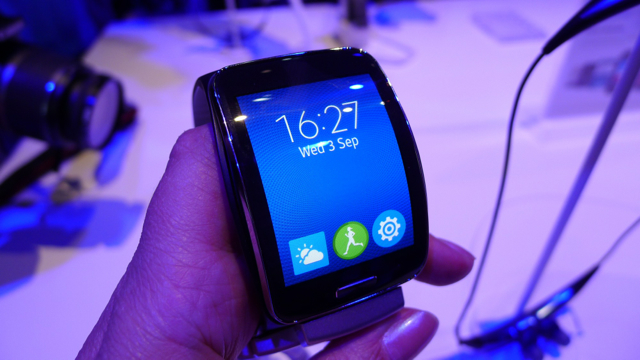 samsung galaxy gear S - 1