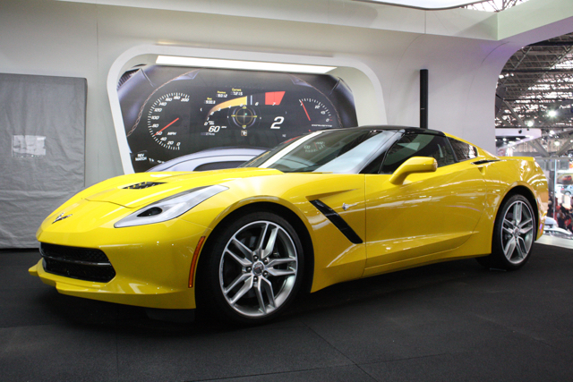 corvette stingray perfil