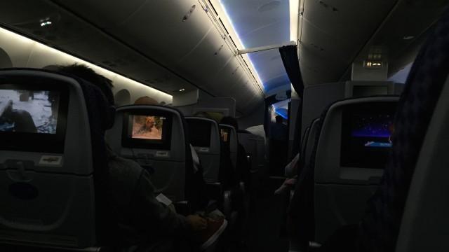 united 787  - 22