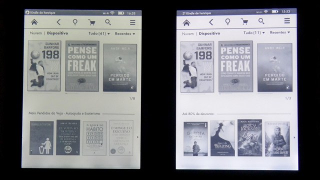 kindle paperwhite 3 - 5