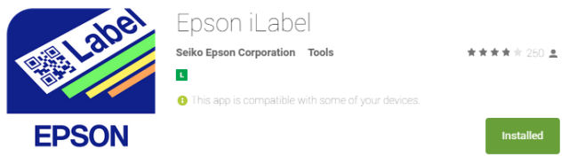 Epson_LW600_App_iLabel_store