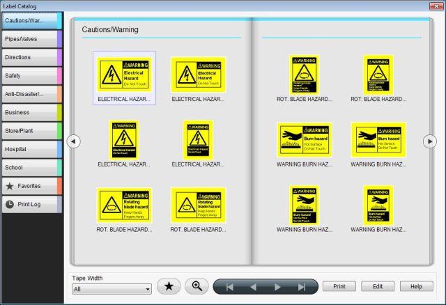 Epson_LW600_label_editor_PC_templates1