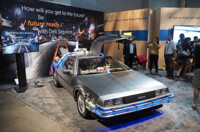 Dellworld15_delorean