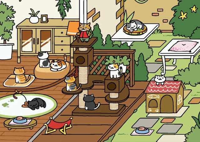 Neko_Atsume_Athletic_EX_game1