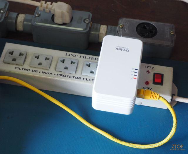 Dlink_Powerline_AV500_teste_filtro_1