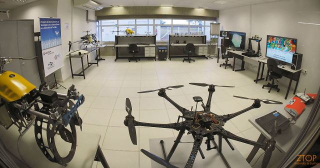 Qualcomm_embrapa_lab_drones