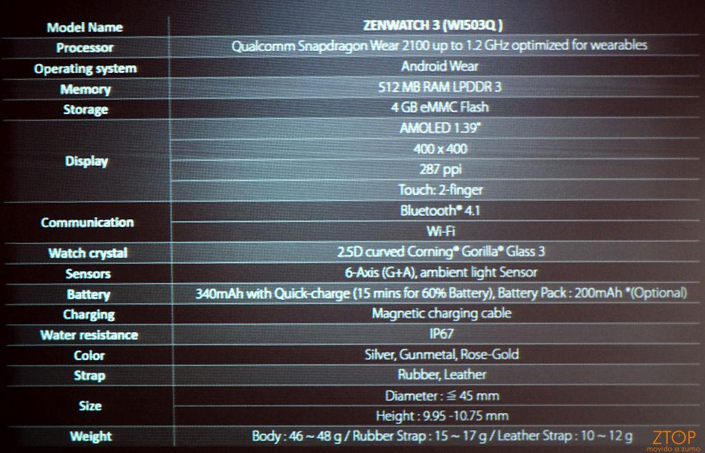 Asus Zenwatch 3: Afinal, o que é aço inoxidável 316L ...