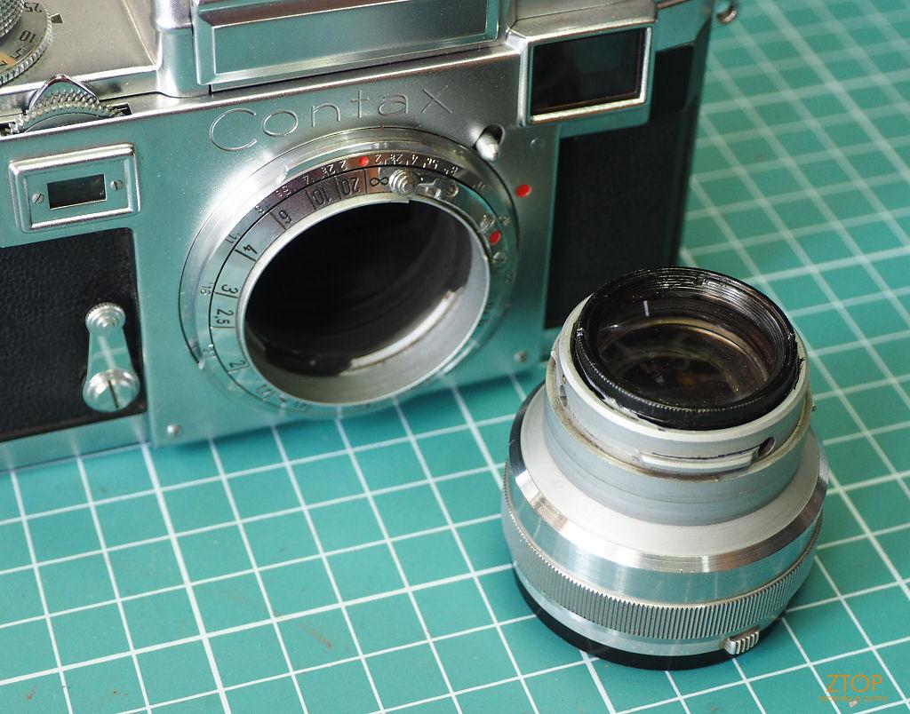b02d526e9ae35 Retrotech  Adaptando lentes Contax Rangefinder numa Digital