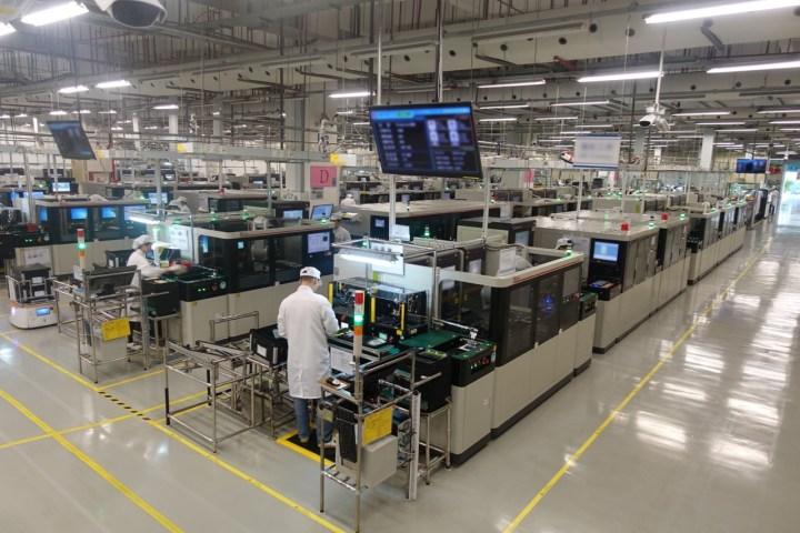 Huawei Factory Songshan Lake - China (fotos-divulgação)
