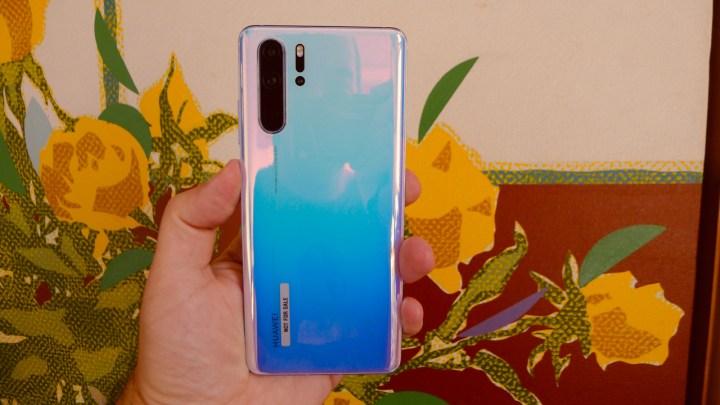 Huawei P30 Pro: parte traseira