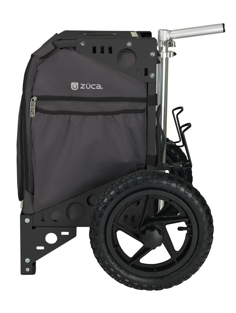 fishing chair hand wheel herman miller aeron chairs buy rolling cart with seat all terrain gunmetal bk black