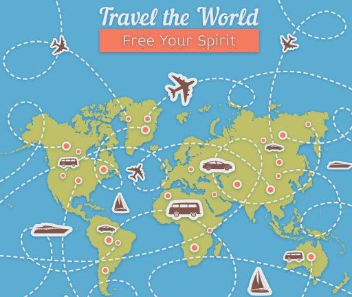Viaggiare low cost, scegliere la meta ed   il mezzo di trasporto