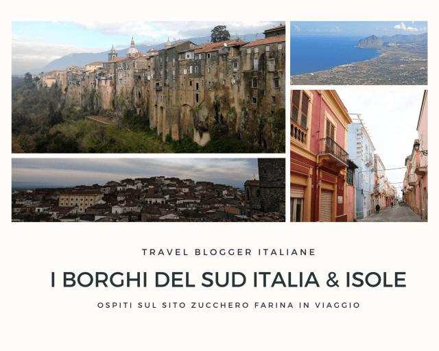 borghi del sud Italia e isole