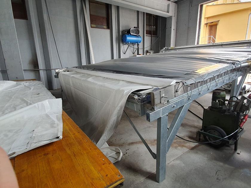 Lavaggio Struttura pvc
