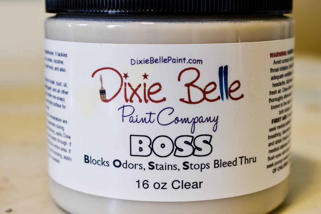 can of Dixie Belle BOSS