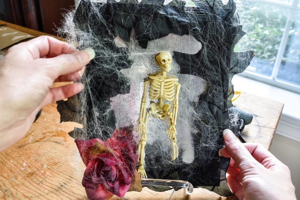 creating diy spooky halloween decorations