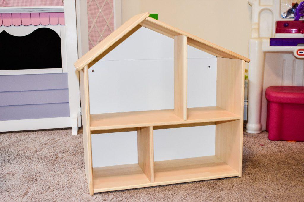 plain, assembled IKEA dollhouse
