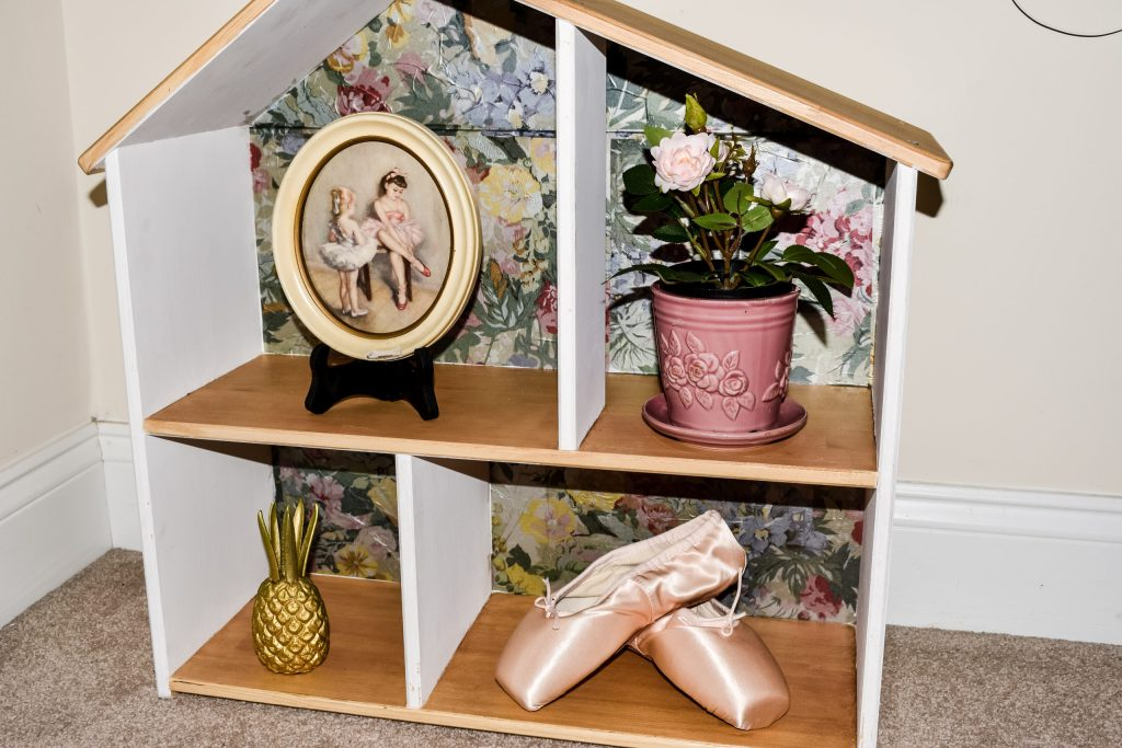IKEA dollhouse styled with pretty things