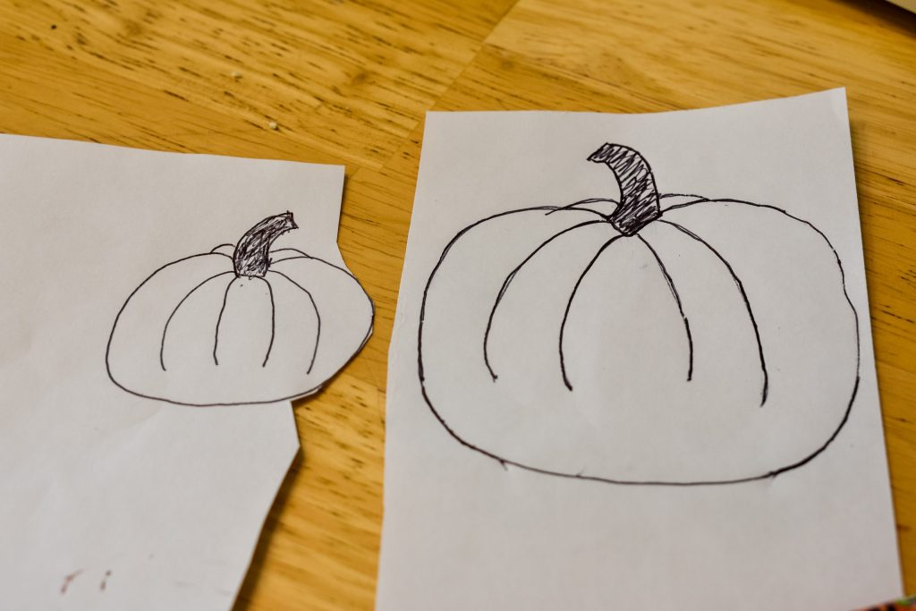 hand drawn pumpkins