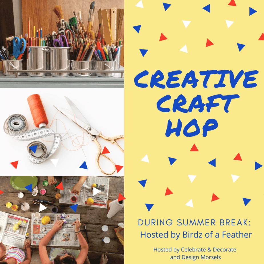 craft supplies and people crafting