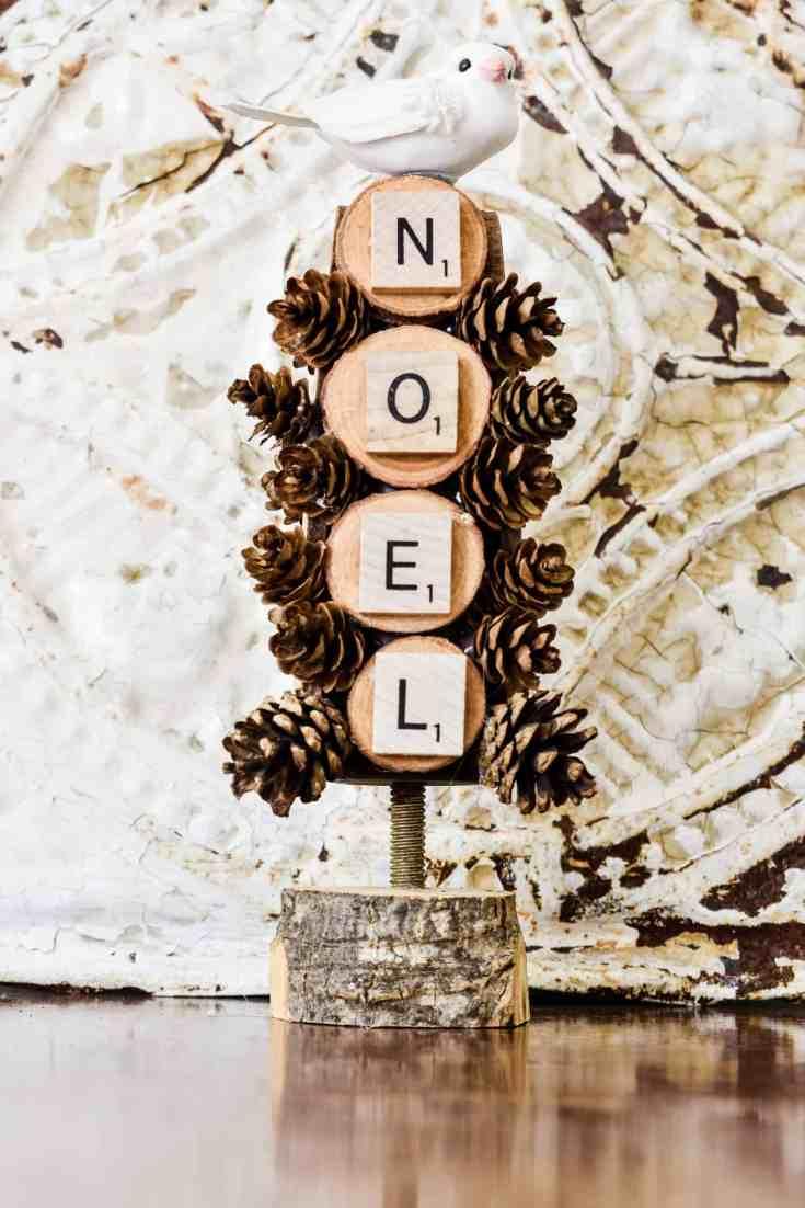 Wooden Christmas Tree DIY Holiday Decoration