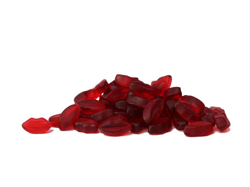 Kirsch Kussmund  Schleckzeug Online Shop fr Hochzeitsmandeln Confetti sssigkeiten Gummibren