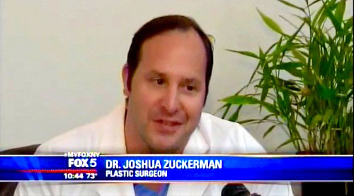 "Dr. Zuckerman was interviewed on the trend of ""Trophy Husbands"" where men undergo plastic surgery for Fox5 News."