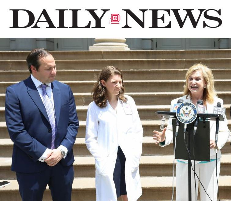 Dr. Zuckerman spoke on behalf of Rep. Maloney's sponsored legislation proposed to ban minors from using tanning beds, which can be 10x-15x more intense than the midday sun.