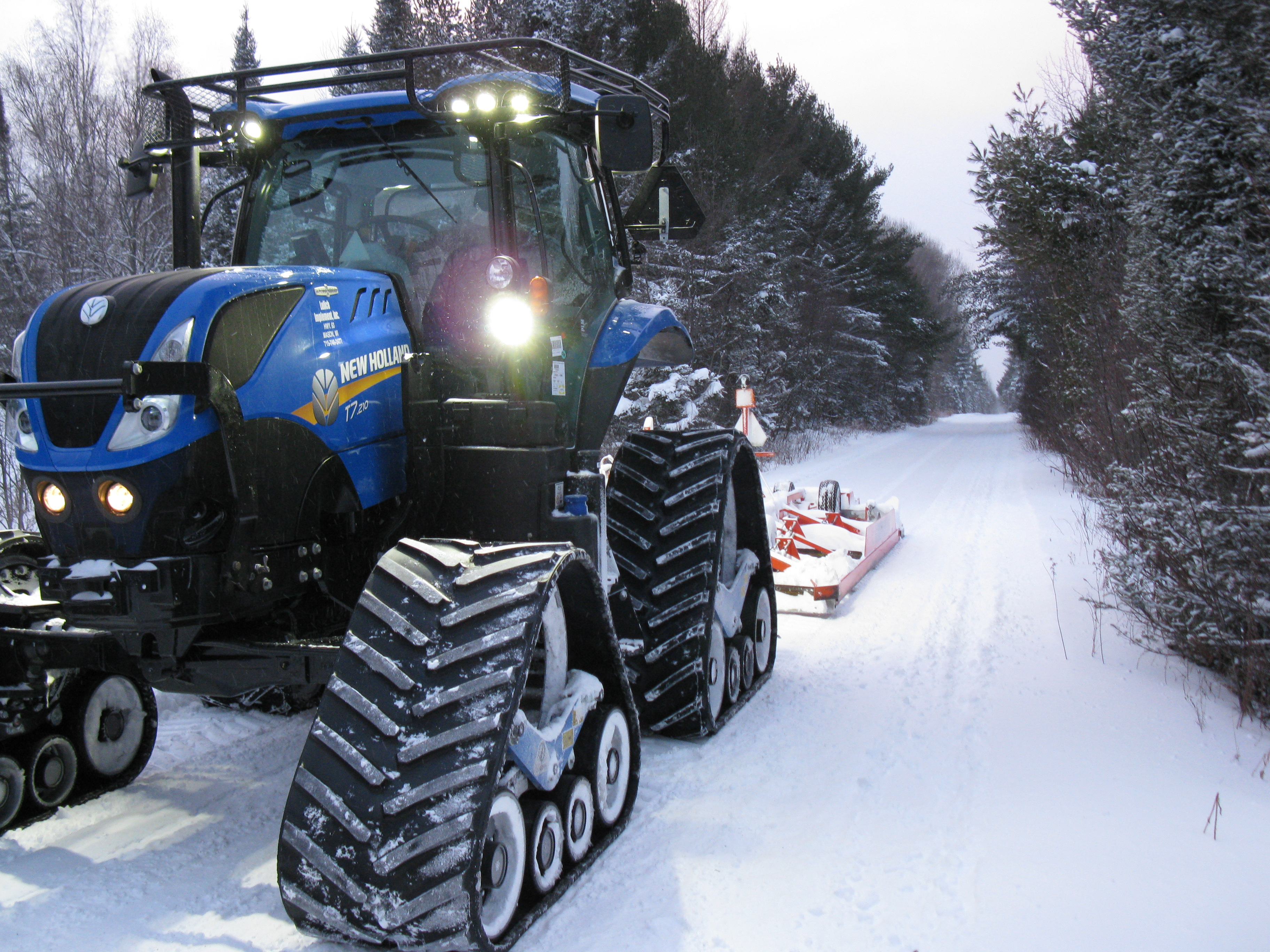 New Track System For New Holland T7 Series