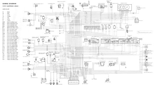 small resolution of samurai complete wiring diagram carbureted model
