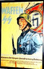 Propagandaplakat für die Waffen-SS