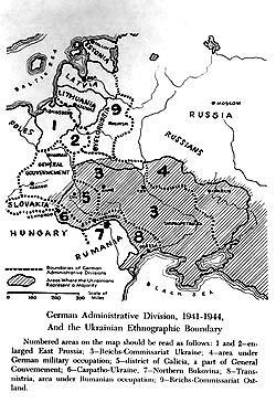 Die Ukraine als deutsches Besatzungsgebiet