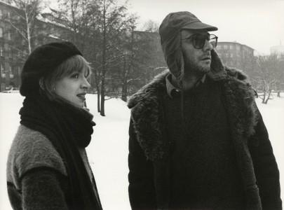 Katharina Thalbach, Thomas Brasch. BRASCH - Das Wünschen und das Fürchten. Foto: Berlinale