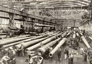 Die Krupp-Werke in Essen