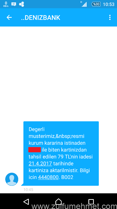 sms-iade