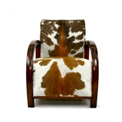 Cowhide Chairs Uk Ricon Wheel Chair Lift Bespoke Furniture Zulucow Armchair Art Deco Antique