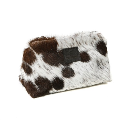 unisex toiletry bag, men's wash bag, men's toiletry bag, make up bag, cowhide, Nguni, purse, clutch, cowhide, leather toiletry bag, leather washbag, christmas present, christmas gift