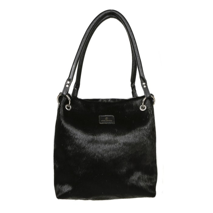 bags-leather-slouch-bags-hobo bags, cowhide-bags -black cowhide, leather bags, fashion accessories, women's accessories, handmade bags, artisan made, socially conscious brand, sustainable fashion
