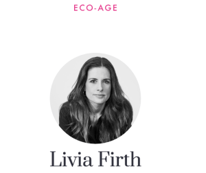 Sustainability, environmental and social justice, Ethical campaigner, Livia Firth, Eco Age, The Green Carpet Challenge, Rana Plaza Disaster, Bangladesh, conscious consumerism, whomadeyourclothes, social impact, slow fashion, fair pay, fashion revolution week