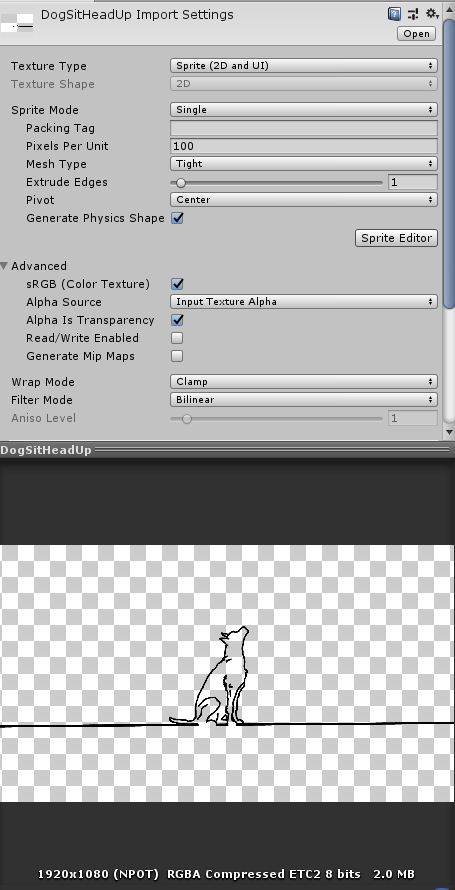 Image File Size in Unity and their Impact on Start Up Time