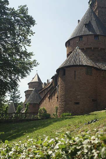 Historische Sttten im Elsass Slestat