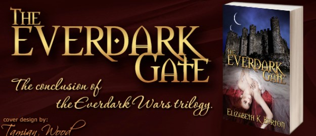 The Everdark Gate by Elizabeth K. Burton - Cover Art by Tamian Wood