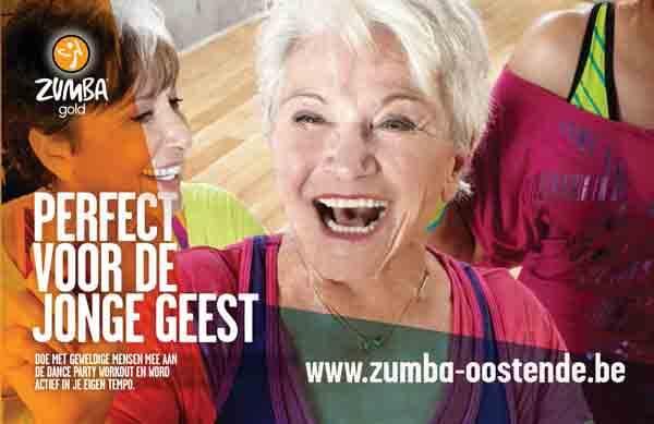 actieve oudere zumba gold fitness in ravelingen kinkhoorn te oostende