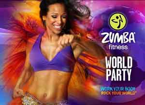 zumba fitness world party racquel bulleser oostende