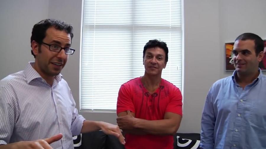 Alberto Perlman, Alberto Aghion, Beto Perez, zumba fitness